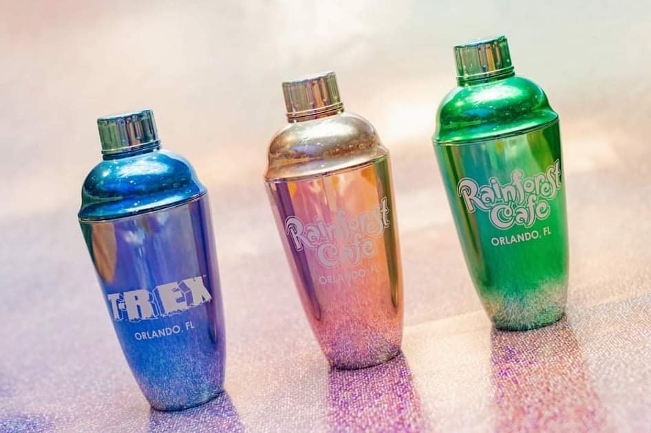 50th Anniversary Celebration Shakers now at Disney Springs