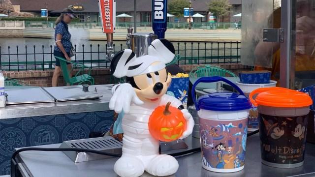 The Mickey Mummy Popcorn Bucket now available at Disney World 1