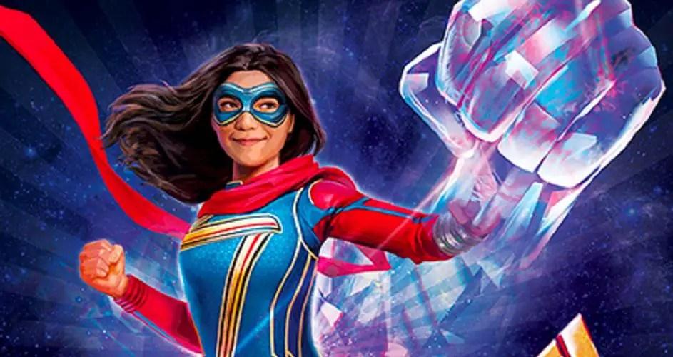 'Ms. Marvel' Promo Art Teases Major Power Changes for Kamala Khan in New Disney+ Series
