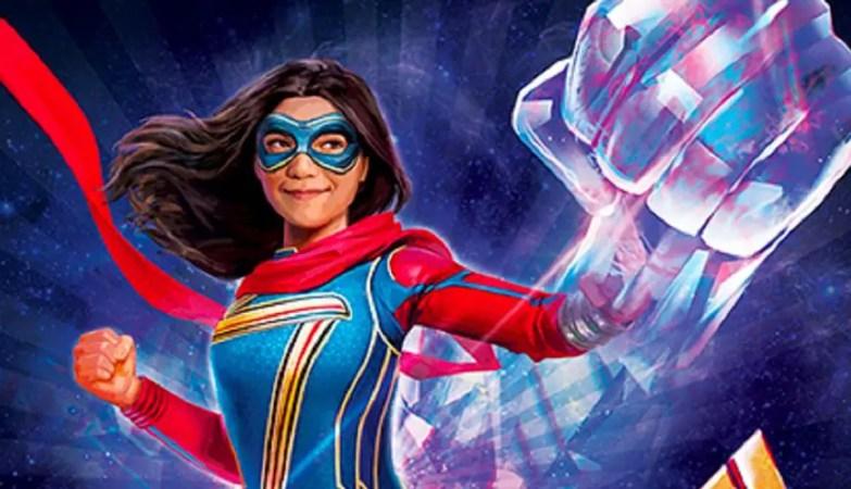 'Ms. Marvel' Promo Art Teases Major Power Changes for Kamala Khan in New Disney+ Series 3