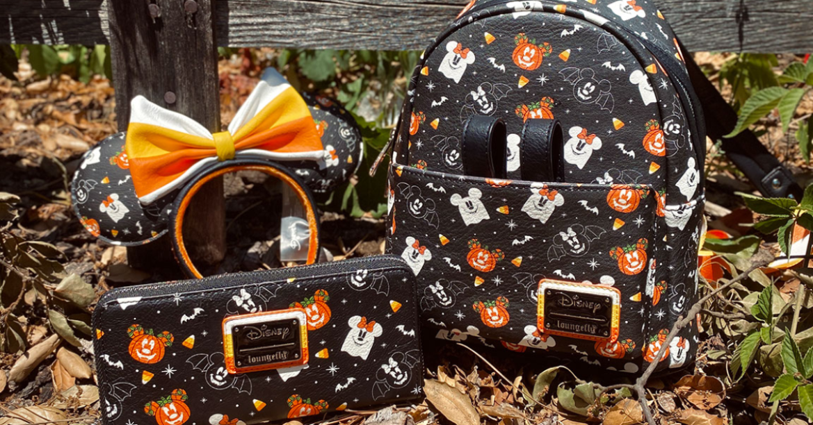 New Halloween Disney Loungefly And Stitch Shoppe Collections!