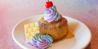 Sail Away With The New Disney World 50th Anniversary Dessert at The Boathouse in Disney Springs 4