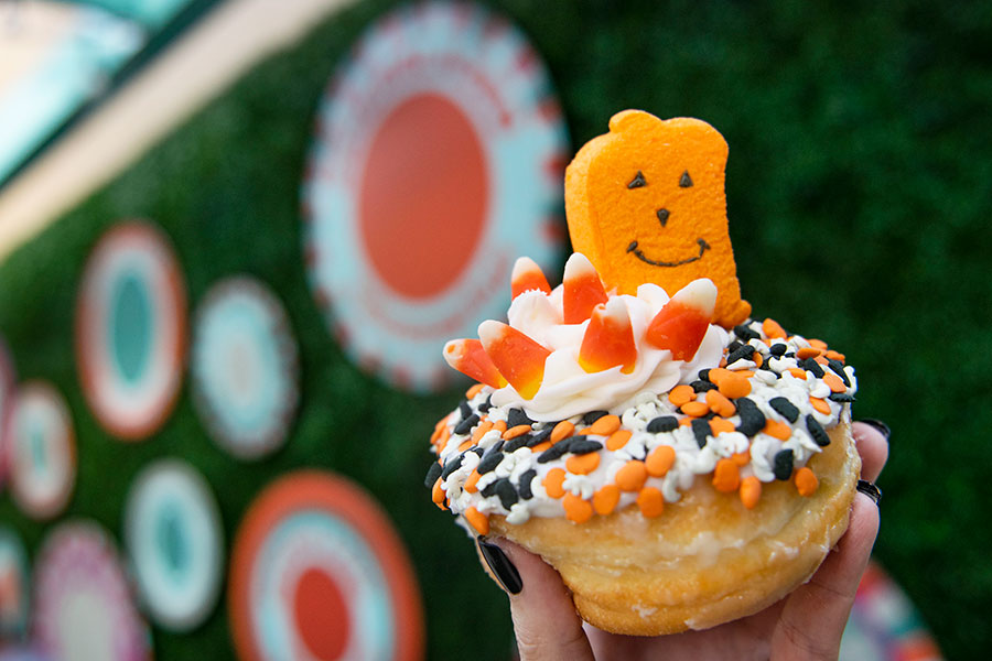 The Great Pumpkin Donut Is Available for a Limited Time at Everglazed Donuts