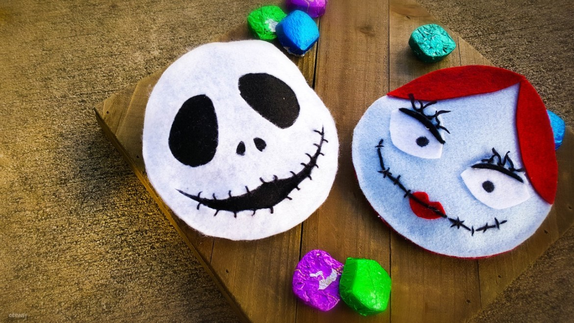 Jack And Sally Candy Pouch To Go Trick Or Treating!