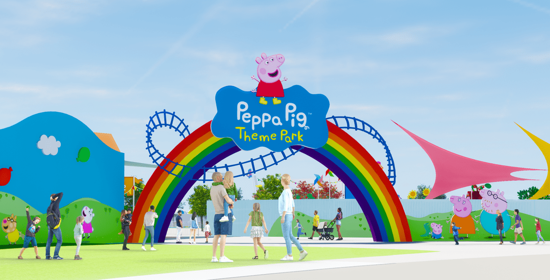 Peppa Pig Theme Park Will Open February 24th, 2022