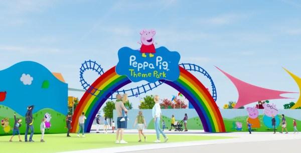 Entrance to Peppa Pig Theme Park