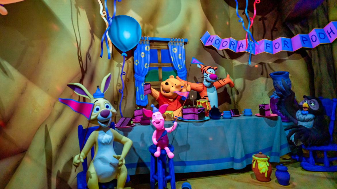 Celebrate the 95th Birthday of Winnie the Pooh at the Disney Parks