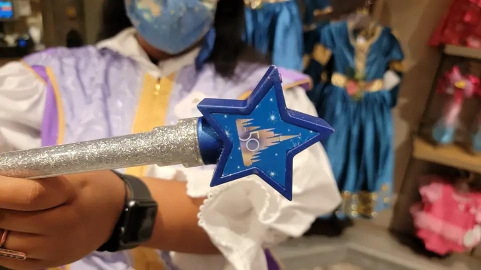 Make Disney Magic with the 50th Anniversary Magic Wand