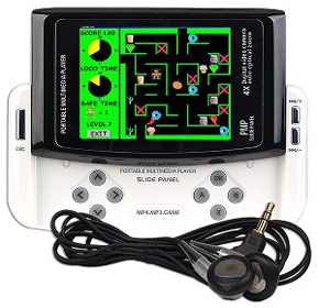 portable slide panel digital media player plays nes games chip chick rh chipchick com Sony Portable Multimedia Player Vintage Portable Media Player