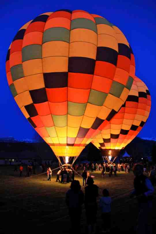 Colorado Resort Hot Air Ballon