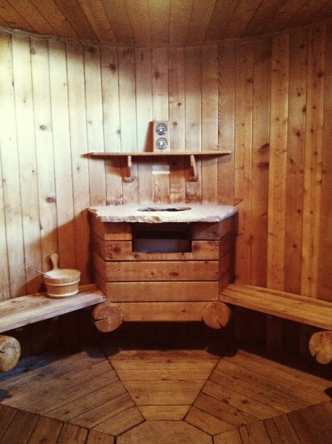 Sauna at Chipeta Spa