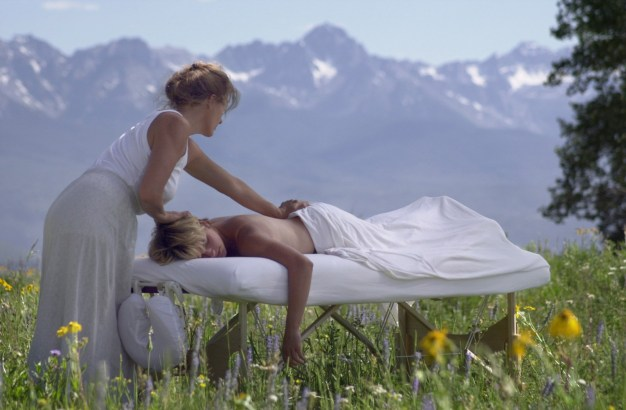 Massage in the Colorado mountains