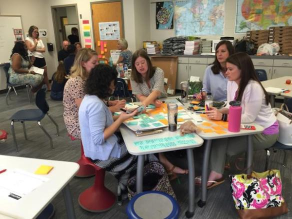 Design Thinking: First Day of School