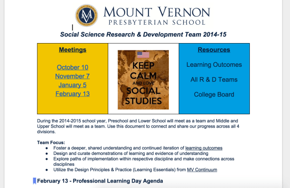 A Brief History of Social Science R & D at MVPS