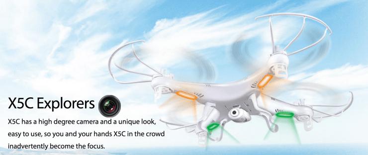 Drone Review: Syma X5C Explorer