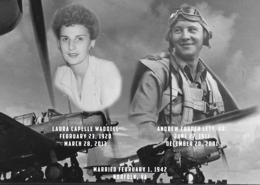 Curren and Laura Lett WW2