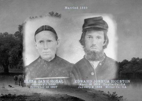 Edward Joshua and Eliza Jane Houston