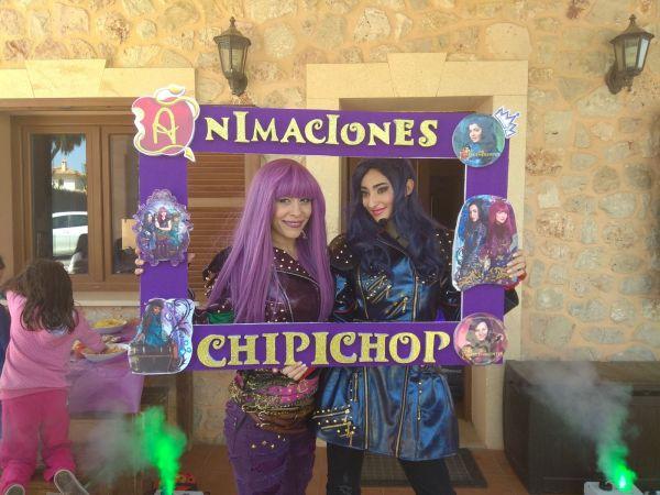 Los descendientes! Animaciones infantiles y visita de personajes. Superheroes, princesas, Piratas, magos y payasos en Mallorca. Las mejores animaciones, ¡no te la jueges!