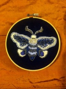 Embroidery by Suzanne Forbes