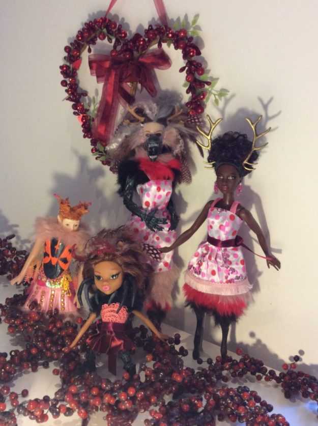Monster dolls by Suzanne Forbes Feb 2017