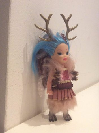 weasel claw doll by Suzanne Forbes Feb 2017