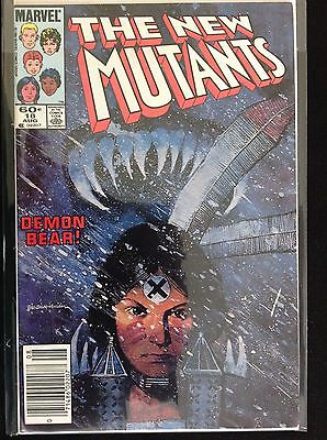 NEW-MUTANTS-18 cover by Chris Claremont and Bill Sienkiewicz