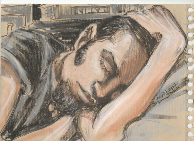 D sleeping August 1 2017 by Suzanne Forbes