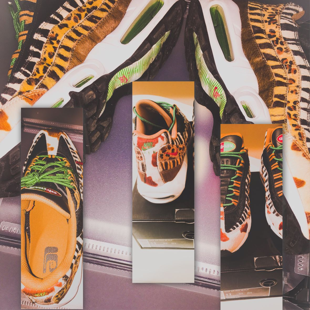 """100% authentic b08e7 a1962 Review: Atmos x Nike Air Max 95 """"Animal Pack 2018"""" - CHIP ..."""