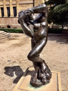 """""""Meditation With Arms"""" Rodin"""