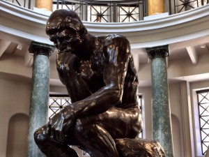 """The Thinker"", 1880–81"