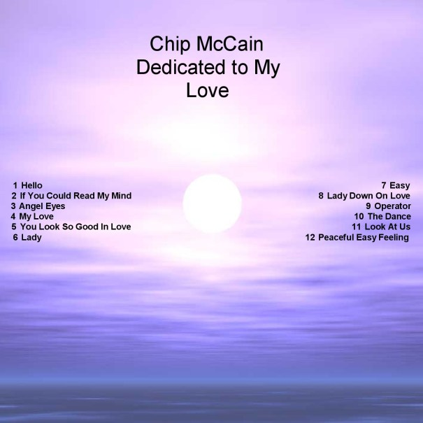 Dedicated to my love album cover