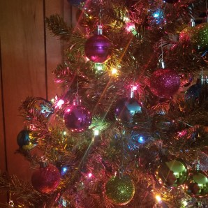 a picture of our christmas tree