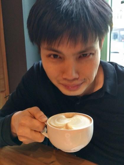 豆漿咖啡初體驗:飲用後