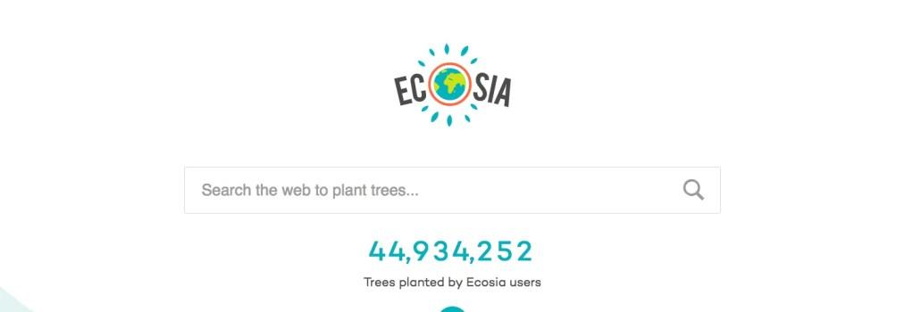 Week 35-Ecosia × 為你我種樹的搜尋引擎