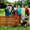 Why Medications Arent Recommended for Low Back Pain