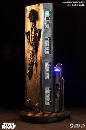 Han Solo Carbonita tamaño real 02