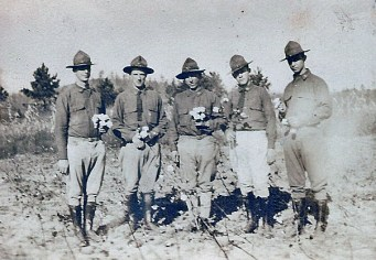 William Boles is 2nd from left