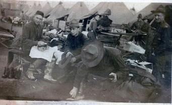 William Boles standing on right