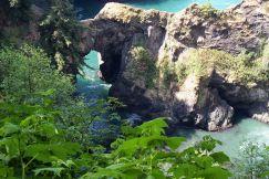 Natural Bridges near Brookings, Oregon
