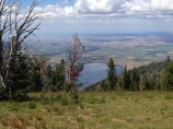 View of Wallowa Lake from top of Mt. Howard
