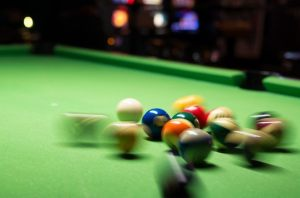 An ADD/ADHD brain is like a table of billiard balls being broken.