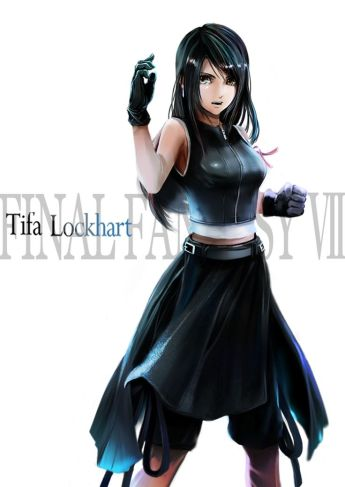 Tifa Final Fantasy reference