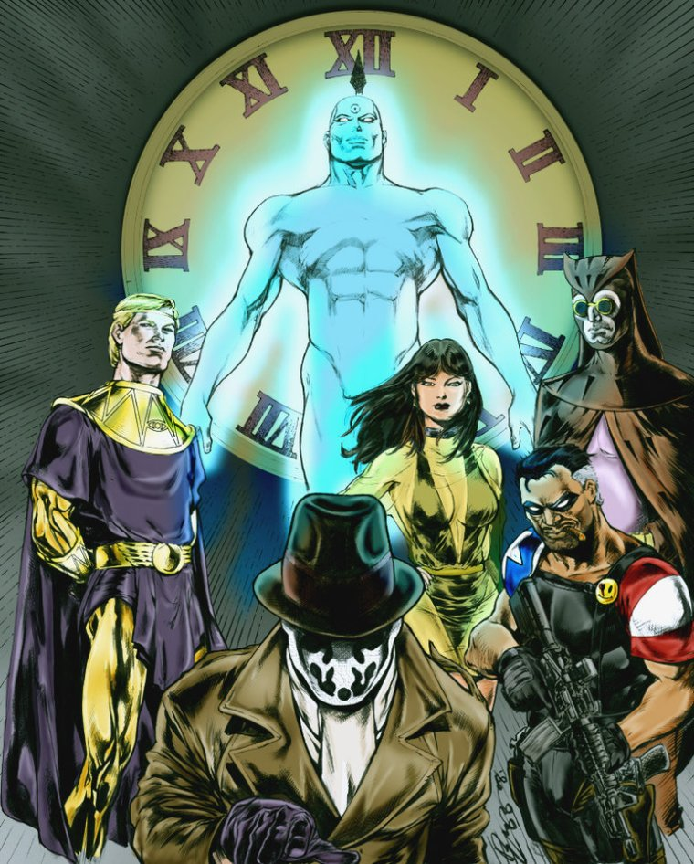 the_watchmen_by_ludkubo