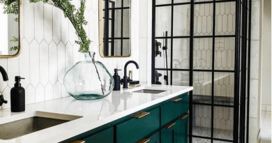 How to Style a Contemporary Bathroom in 2020: Top Bathroom Trends