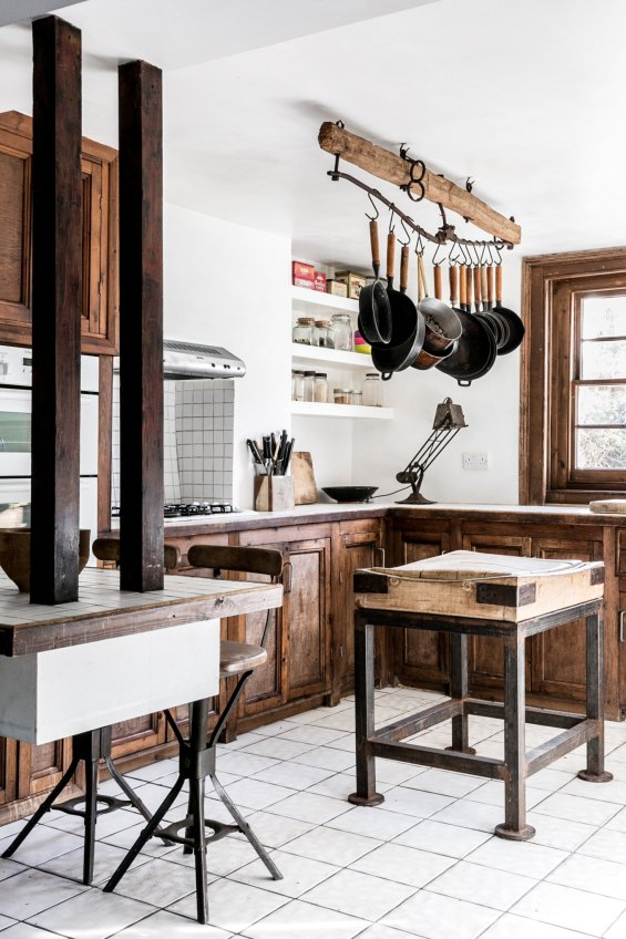 incorporate wood into your interior design