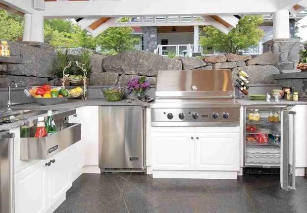 high end outdoor kitchen lake street design studio 8243 DIY Outdoor Kitchen