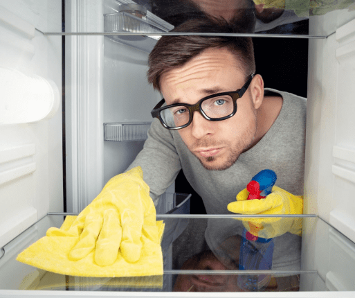 Steps to Cleaning your Fridge