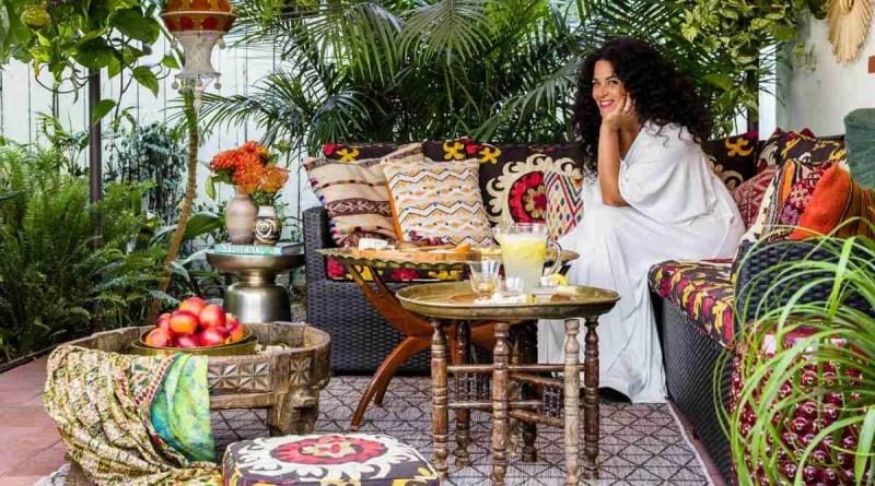 justina blakeney patio sun 0916 0 Bohemian Lifestyle