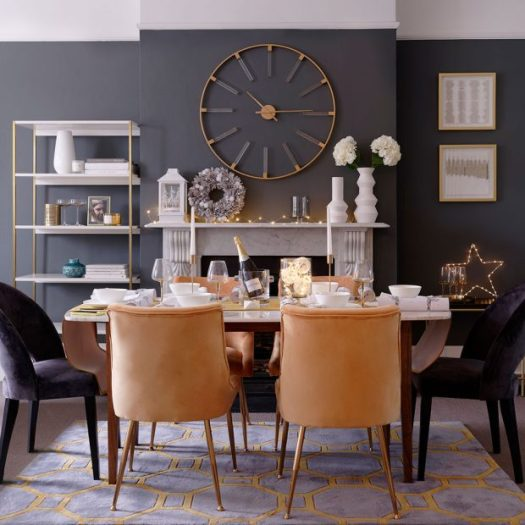 Grey dining room ideas 620x620 1 Small Dining Room Ideas