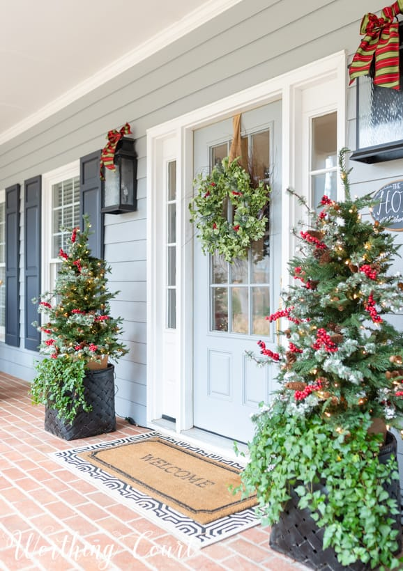 Christmas front porch decorations 4 Christmas Decorating Ideas